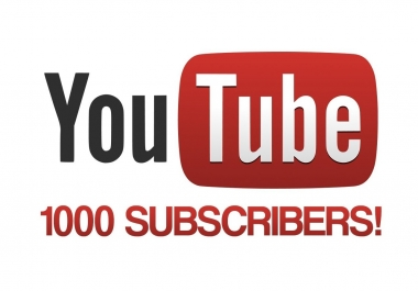 1.000 Non Drop Subscribers