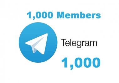 1k Telegram Members from my list