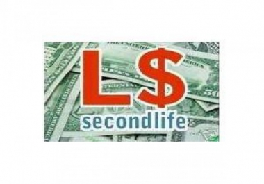 Looking to buy Second Life Lindens Ingame Curency
