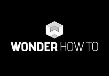 Guest post on wonderhowto