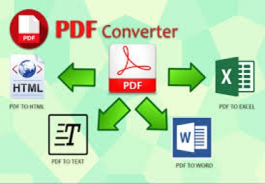 Convert PDF To Word By Typing 10 Pages Document