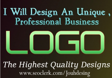 I Will Design A Unique Business Logo