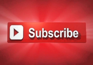 1000 subscribers to your YouTube channel for 25