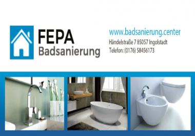 TOP Rank 5-10 in google. de Germany first Page Keyword Badsanierung Regensburg