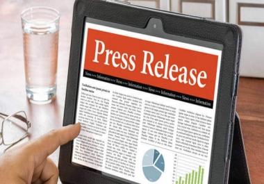 I need 20 High DA Press Release