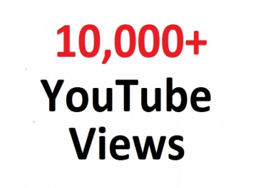 add super fast 10,000+ Life Time Non Drop YouTube views within 10-24 hours delivery for 5
