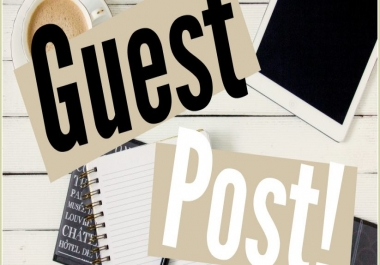 Niche related Guest posts