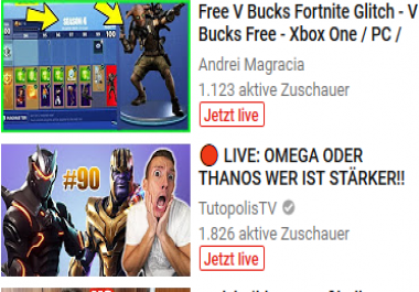 Youtube live stream bot