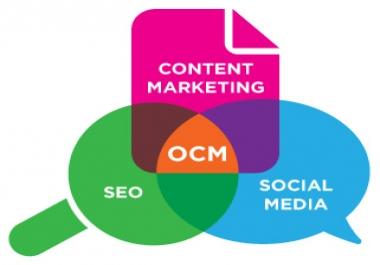 Blogs,  Social media,  SEO & Digital marketing