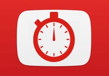 I need youtube watch time