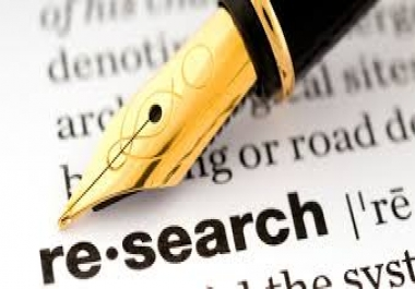 Research and summary writing 1000 words
