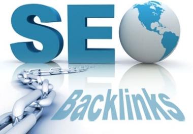50 PR10 Backlinks on Da 100 Sites with Anchor text & URL both