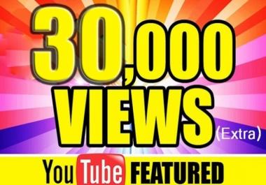 I will add 3000 Youtube vieews High Retention