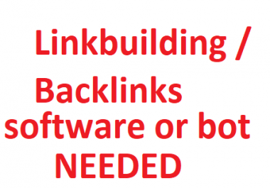 Need an Automated Backlinks making software