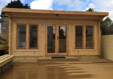 Timber cabins CAD drawings and estimating