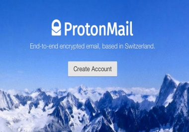 anonymous email account pronton mail