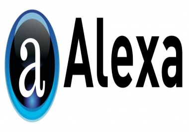 Boost my alexa Global Rank to under 10.000 guaranty