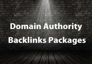 Backlinks Provider 100 On High Authority Domain Seo