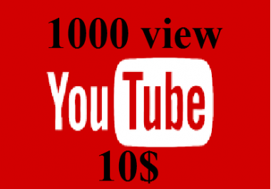 1000 video views fast and provide only price
