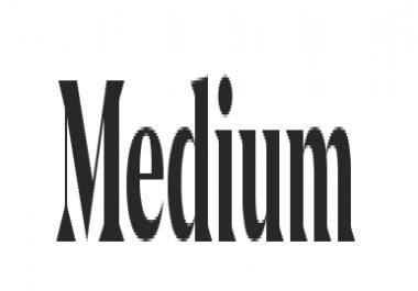 Medium Article push + follower push