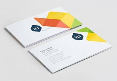 I will do professional visiting card design in 2 day