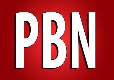 I need 20 High DA,  PA PBN backlinks Daily 2 to 10 orders