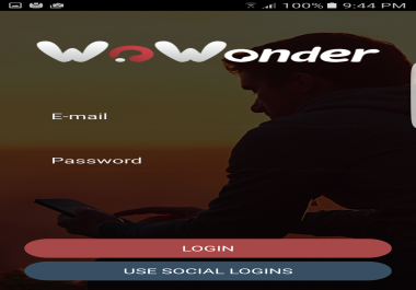 upload WoWonder Android Messenger