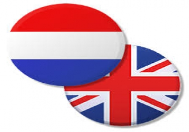dutch to english 6k words translation