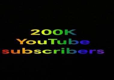 200K ytbe sub in one week