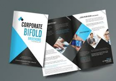 Required 10 Page brochure design