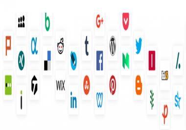 Creating 30 new Web 2.0 blog accounts