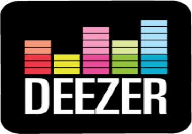 I need 300 deezer fans