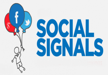100K SOCIAL SIGNALS FROM ONLY FB,  TWITTER,  IG,  PINTREST