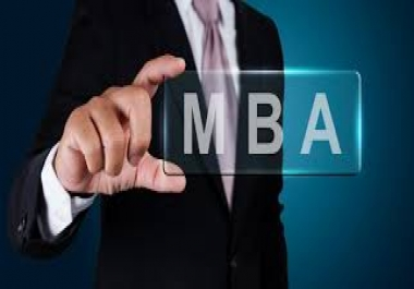 We want you market our program of MBA to 20 students in a week