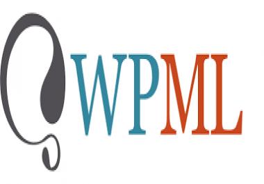 Need WordPress WPML plugin for multilingual