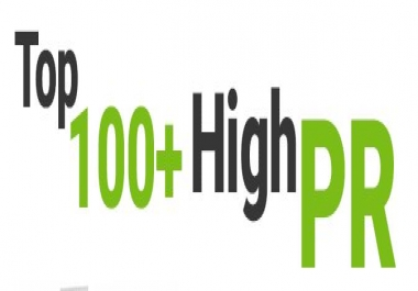 100 + High DA PA Directories submission Manually