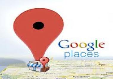 Sweden & register Google places