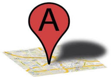 USA location & register Google places