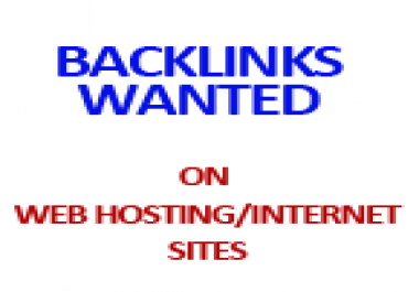 I need quality PR Links to my web hosting site