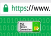 SSL Certificate Registration for 1 year  for $15