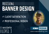 5 Animated or Static Web Banners for $5