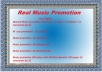 Great Offer High Quality Music promotion  for $1