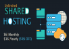 Unlimited Space cPanel Hosting, Cheap Website hosting... for $6