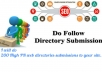 Do 200 High PR web directories submissions to Your si... for $20