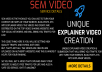 SEM Video - Unique Informative Video Creation and Sub... for $10