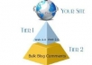 create 2 tier power full Linkwheel of 50 High PR Web ... for $27