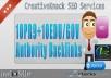 10+ PR9 Backlinks with 10+ .EDU/.GOV Authority Backlinks only