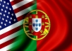 Translate up to 400 words from English to Portuguese or Portuguese to English
