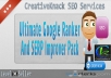 Ultimate Google Ranker And SERP Improver with bring traffic to your website only