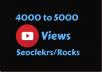 Add 4000+ High Retention Youtube views